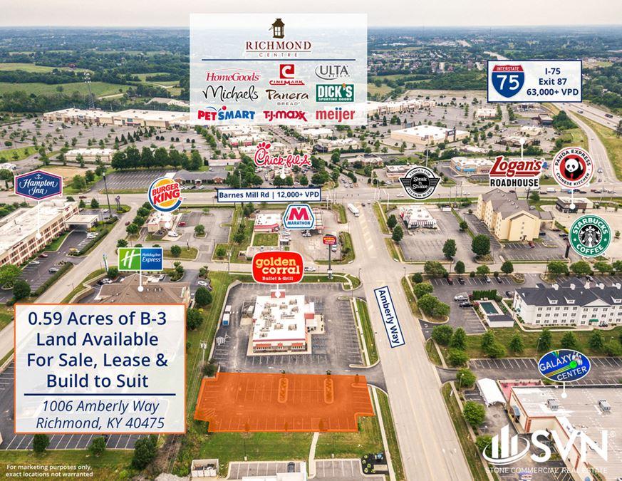 Retail QSR Lot - Richmond, KY