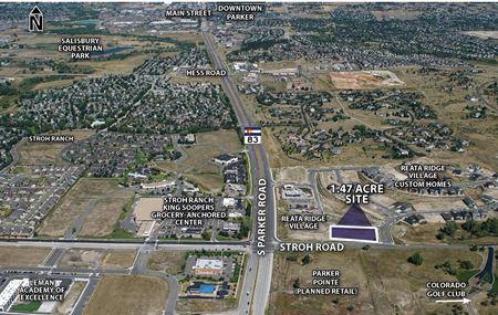 Reata Ridge Village Center Pad Site for Sale or MOB for Lease - Parker
