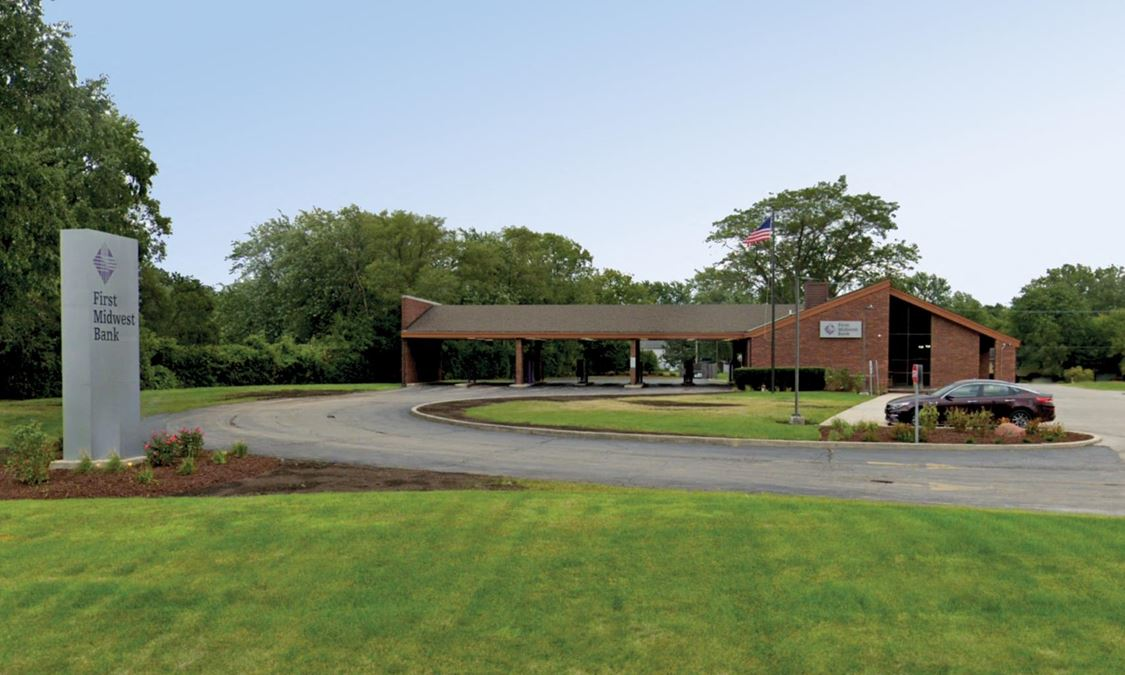 Well-Located Beach Park, IL Surplus Bank Branch for Reuse or Redevelopment