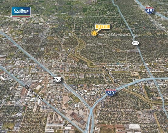 For Sale or Lease | ±2 Acres of Partially Stabilized Land in Northwest Houston