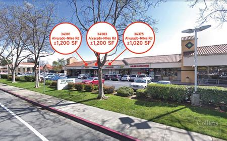 STRIP RETAIL SPACE FOR LEASE - Union City