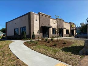 New Construction Retail - Saltwater Seafood Market Building - Rock Hill