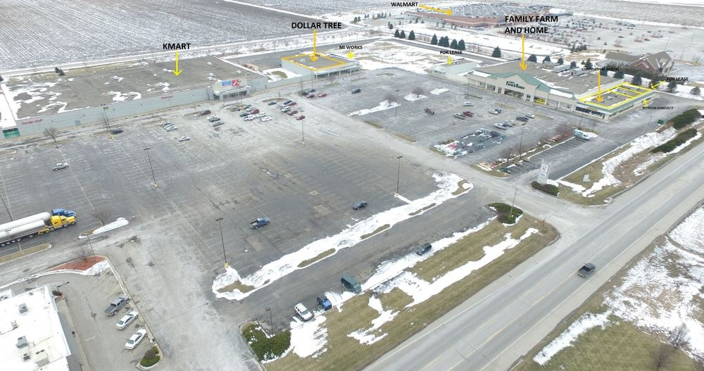 Former Kmart Available For Sale or For Lease