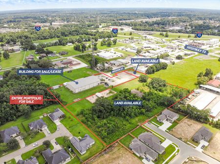 Multi-Purpose Retail/Distribution Facility + Surplus Development Land - Prairieville
