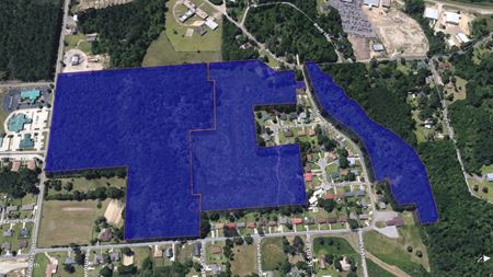Undeveloped Commercial & Residential Land   Opportunity Zone - Hattiesburg