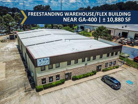 Freestanding Warehouse/Flex Building Near GA-400 | ±10,880 SF - Cumming