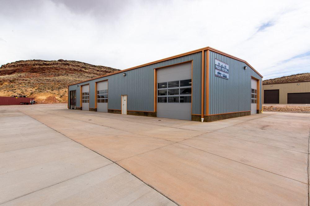 Fairgrounds Industrial Building + 6 Acre Property