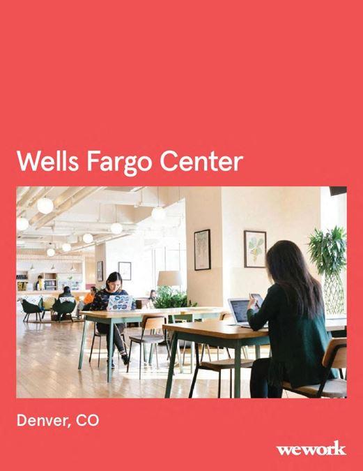 WeWork   Wells Fargo Center