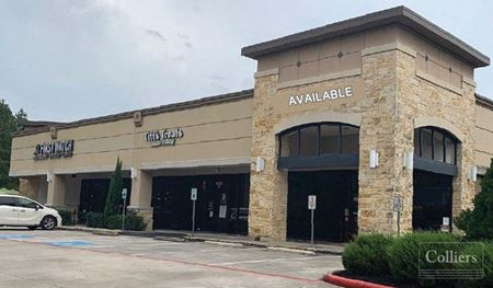 For Lease | End-Cap Retail in The Woodlands - The Woodlands
