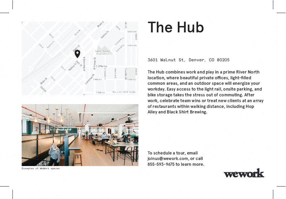 WeWork   The Hub
