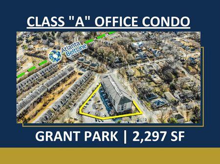 "Class ""A"" Office Condo   Grant Park   2,297 SF - Atlanta"
