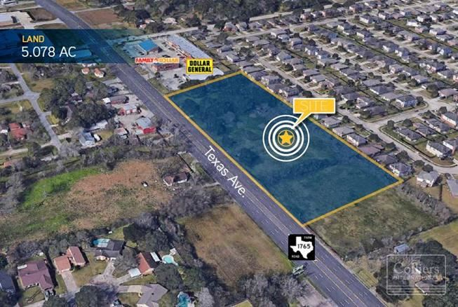 For Sale | ±5.078 Acres on FM 1765