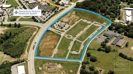 ±22-Acre Multi-Use Development Site near Pelham Medical Center - Greer
