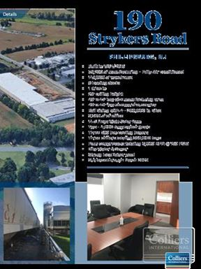 Class A Manufacturing/Warehouse Facility Available