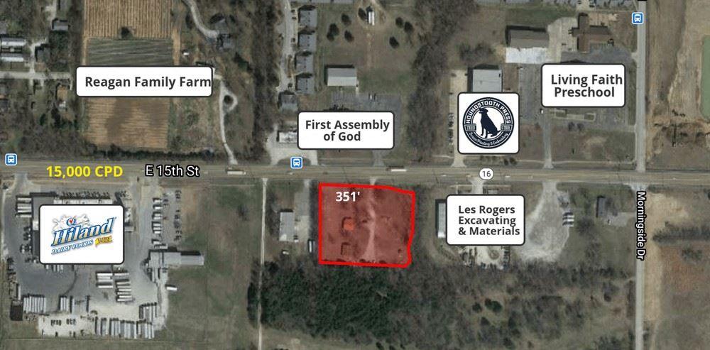 2.37 Acres 509 E 15th St - Fayetteville, AR