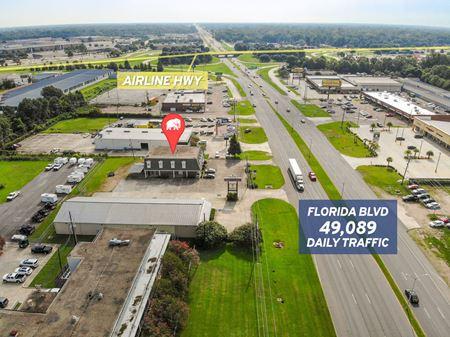 Retail Showroom on Florida Blvd w/ 49,089 Daily Traffic - Baton Rouge