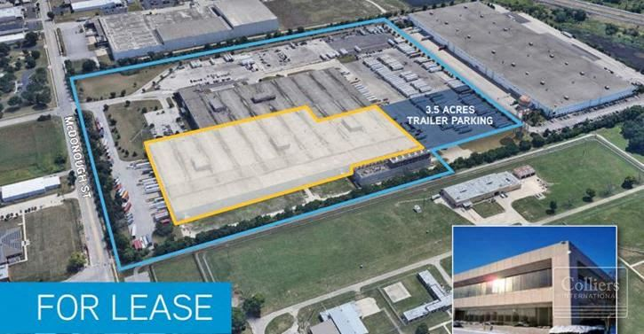 345,528 SF Available for Lease in Joliet