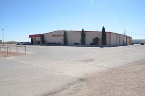 34,960 SF Industrial and Office Building on 6.62 AC - Hobbs