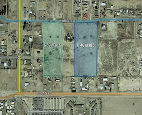 15.05 AC Zoned for Residential Development - Pecos