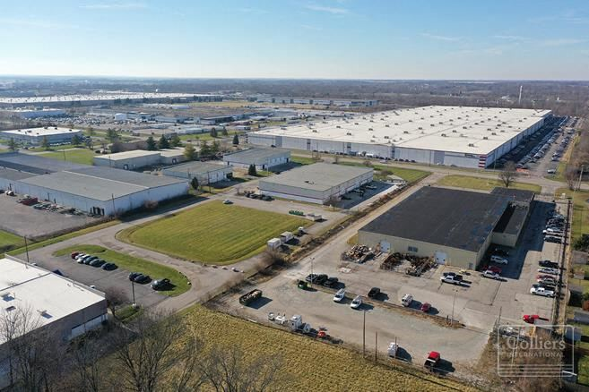 Industrial Facility Zoned for Outside Storage – Indianapolis West Side