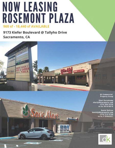 Rosemont Plaza - Sacramento