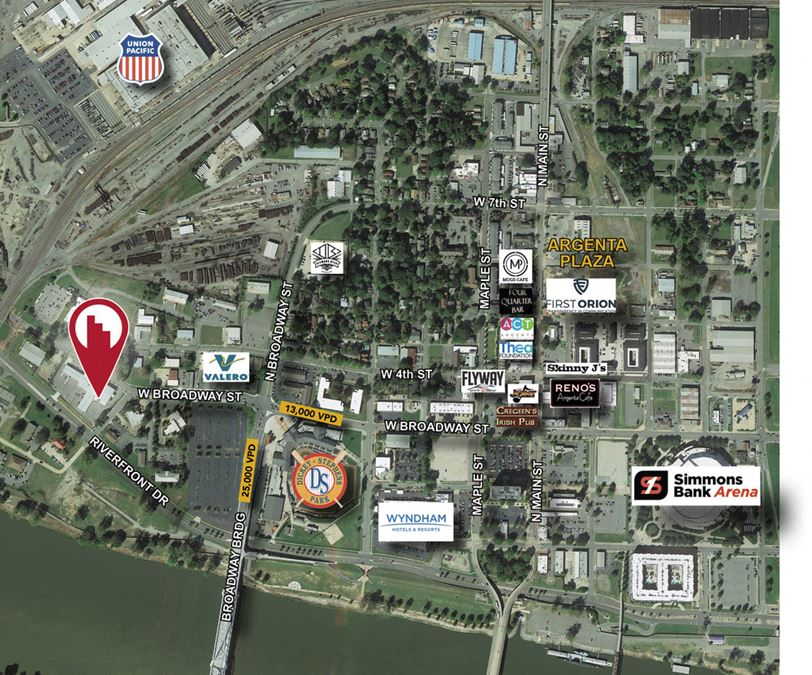 Opportunity Zone Property in North Little Rock