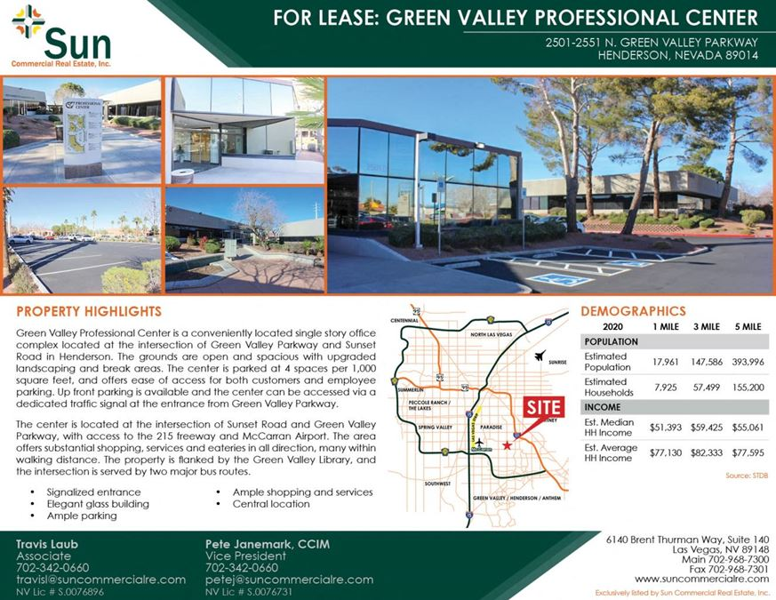 Green Valley Professional Center