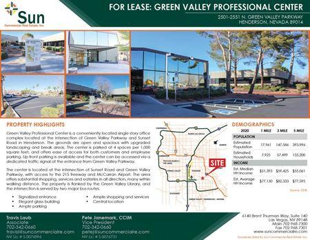 Green Valley Professional Center - Henderson