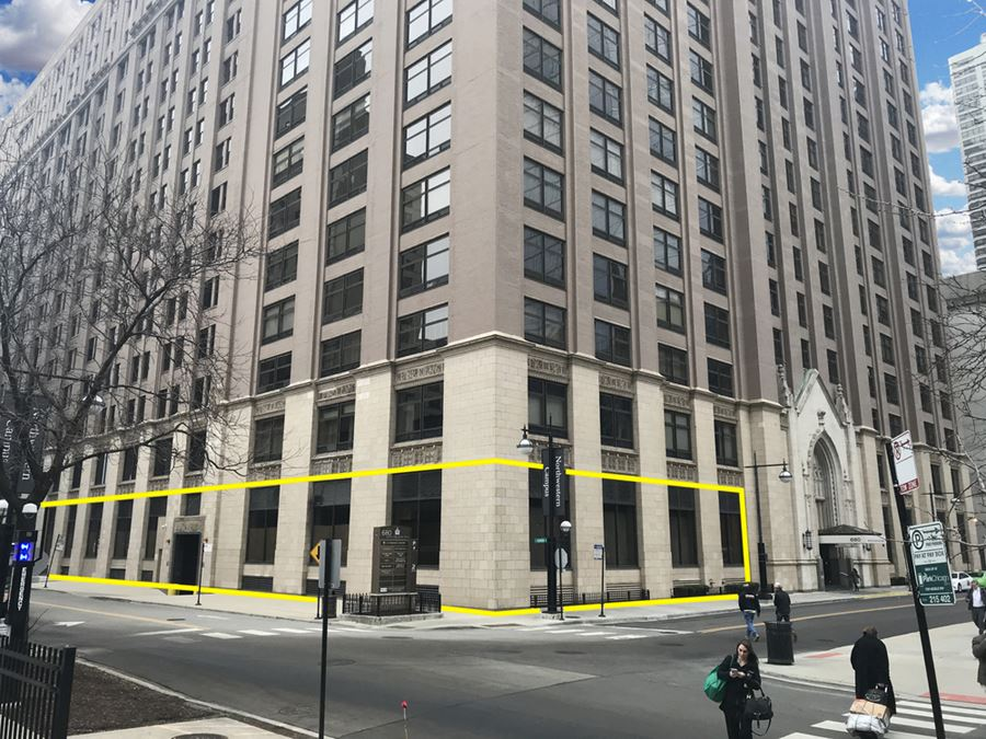 Incredible Leasing Opportunity at the Base of a Trophy Asset in Streeterville