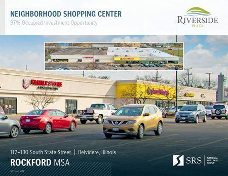 Belvidere, IL - Riverside Plaza - Belvidere