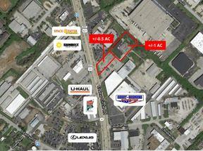 B-3 Zoned Retail lots - Lexington