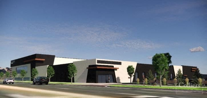 60,000 SF Building & Retail Pad