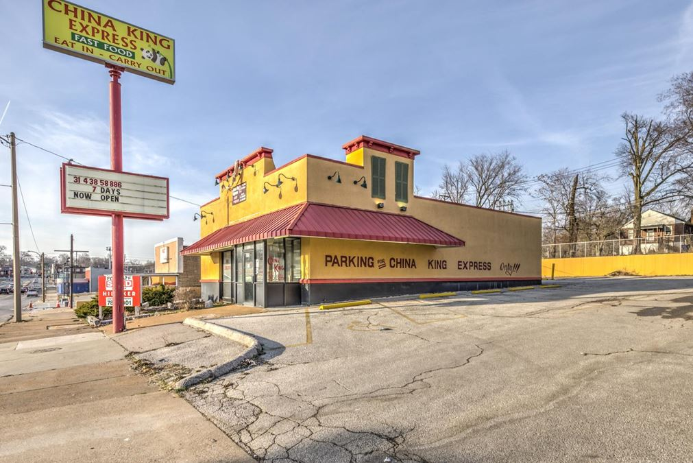 Popeye's Building: Lease Starting $6500/Month   6125 Natural Bridge Ave