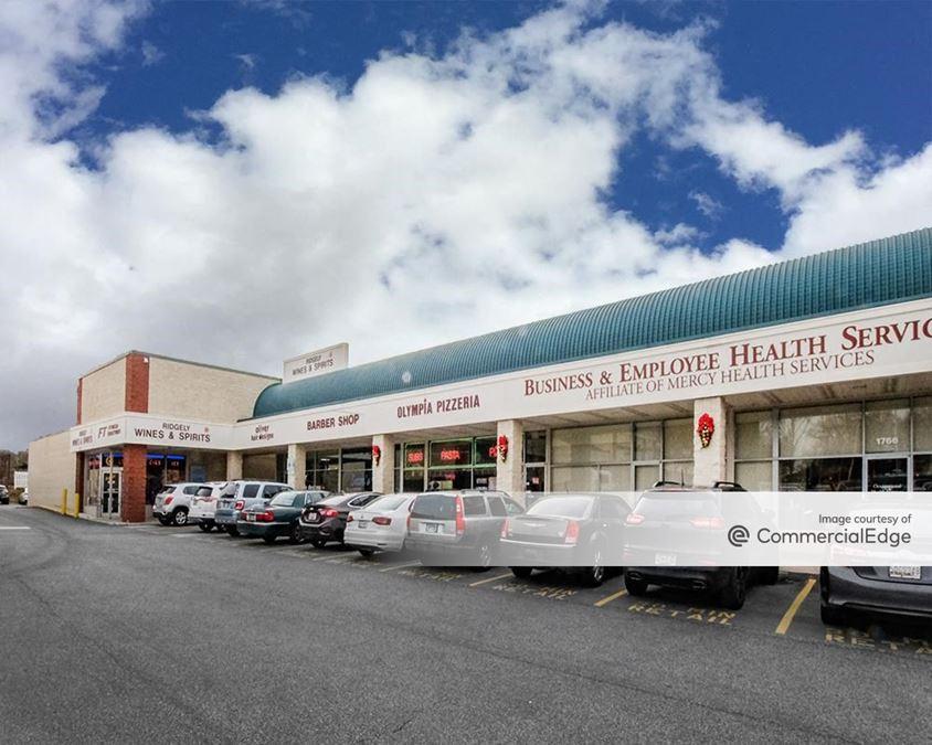 Ridgely Plaza Shopping Center - 1734 York Road