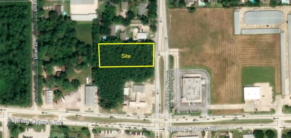 1 Acre on North Eldridge Parkway & Spring Cypress Owner Financing Available