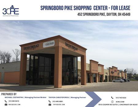 452 Springboro Pike Shopping Center - Dayton