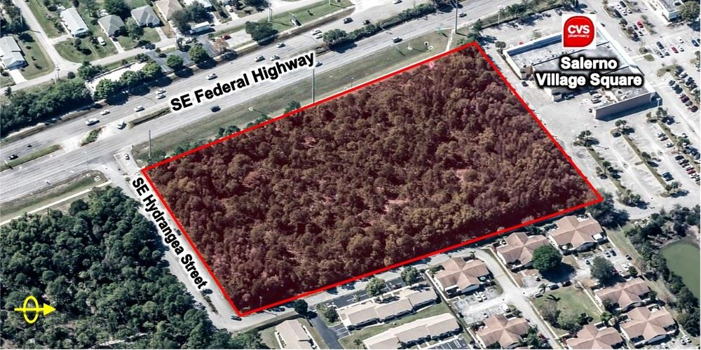5.98 AC Vacant Land on SE Federal Highway