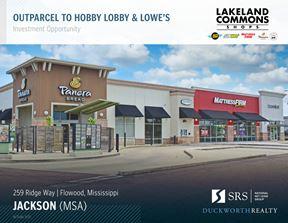 Flowood, MS - Lakeland Commons Shops - Jackson