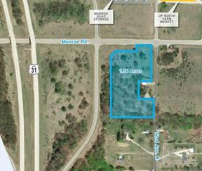 7.56 Acres VL 72nd Ave. and Monroe Rd.. Weare, MI 49420