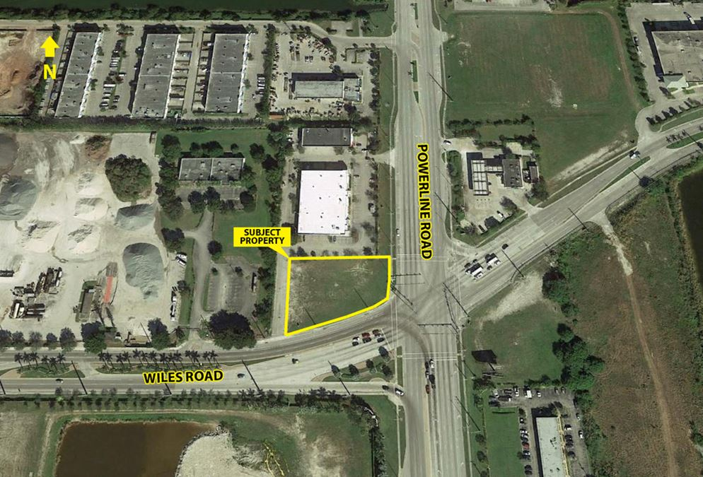 Commercial Land for Lease or Built to Suit