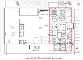For Lease | ±28,650-SF Warehouse/Office on ±5.3 Acres, Rosenberg