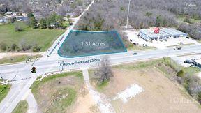 NEC of E Huntsville Road & S Stone Bridge Road - Fayetteville