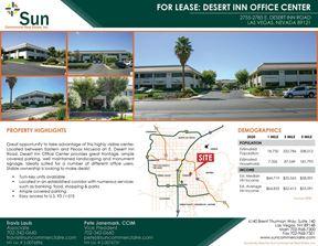 Desert Inn Office Center - Entire 2-Story Building Available - Las Vegas