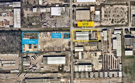 For Lease   10-Ton Crane Served Warehouse - Houston