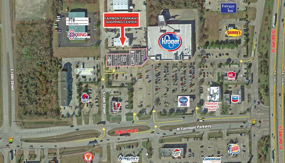 Fairmont Parkway Shopping Center