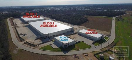 For Sale or Lease | Cypress Preserve Logistics Center | Single-Tenant Industrial Buildings - Houston