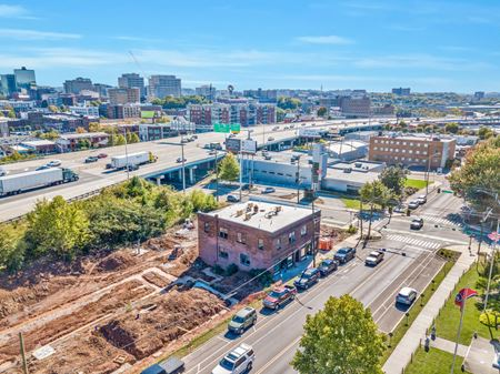 Historic Redevelopment Space - North Downtown Knoxville - Knoxville