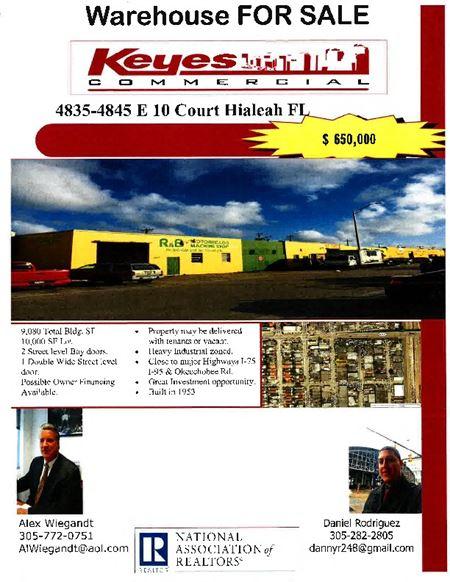 East Hialeah Mutli-bay Warehouse - Hialeah