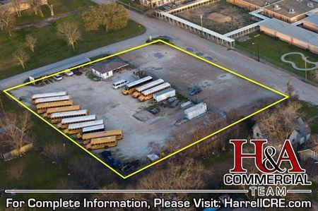 Former Mart ISD Bus Parking Lot - Mart
