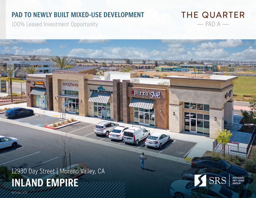 Moreno Valley, CA - The Quarter Pad A